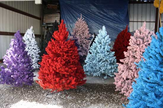 Colorful-Artificial-Christmas-trees-Design-1